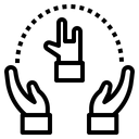 Rocking Hand Icon