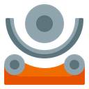 Rolling Plate Process Industry Icon