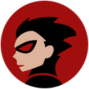 Ronin Young Hero Face Comics Avatar Icon