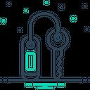 Room Key Key Security Icon