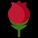 Rose Flower Bloosom Icon