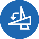 Rotate Degree Angle Icon