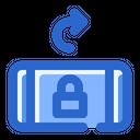 Rotate Right Lock Icon