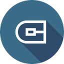 Round Cap Stroke Icon