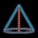 Round Circle Cylinder Icon