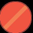 Round Denied Remove Icon