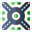 Roundabout Icon