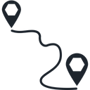 Direction Finder Directional Gps Icon