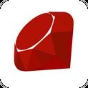 Ruby Brand Logo Icon