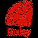 Ruby Plain Wordmark Icon