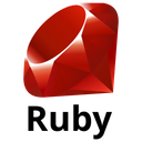 Ruby Original Wordmark Icon
