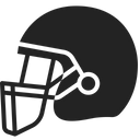 Rugby helmet Icon