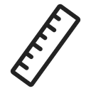 Ruler Scale Tool Icon