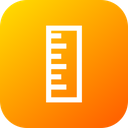 Ruler Rule Scale Icon