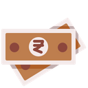 Rupee Currency Cash Icon