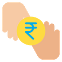 Rupees Donation Coin Icon