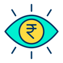 Rupees Eye Rupees Eye Icon