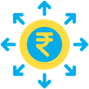 Rupees Spending Icon