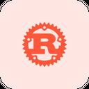 Rust Technology Logo Social Media Logo Icon