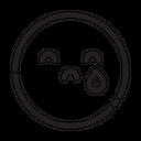 Emoji Emoticon Sad Icon