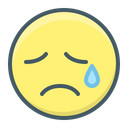 Emoji Sad Cry Icon