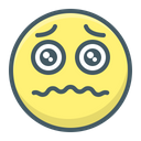 Emoji Sad Alarmed Icon