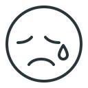 Emoji Sad Cry Icon