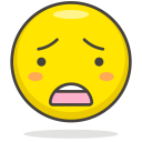 Sad Worried Face Icon