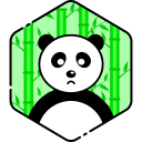 Sad Panda Face Icon