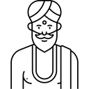 Sadhu Icon