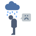 Sadness Disorder Unhappy Icon