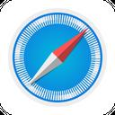 Safari Brand Logo Icon