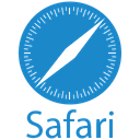 Safari Plain Wordmark Icon