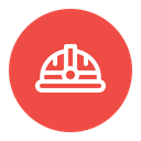 Safety Protection Helmet Icon