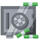 Finance Locker Safe Icon