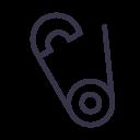 Safety Needle Pin Icon