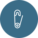 Safetypin Icon