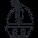 Sail Ship Sea Icon
