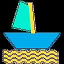 Boat Sail Boat Transport Icon