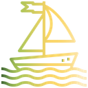 Sailboat Summer Sea Icon