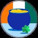 Saint Patrick St Patricks Clover Icon