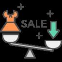 Sale Scale Icon