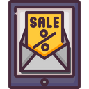Sale Mail Icon