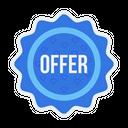Sale Offer Sticker Icon