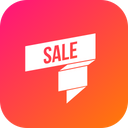 Sale Ribbon Discount Icon