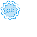 Sale Ribbon Label Icon