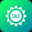 Sale Sticker Discount Icon