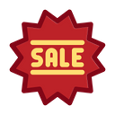 Black Friday Commerce Discount Icon