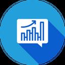 Sales Analytics Performance Icon