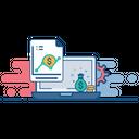 Sales Analytics Report Icon